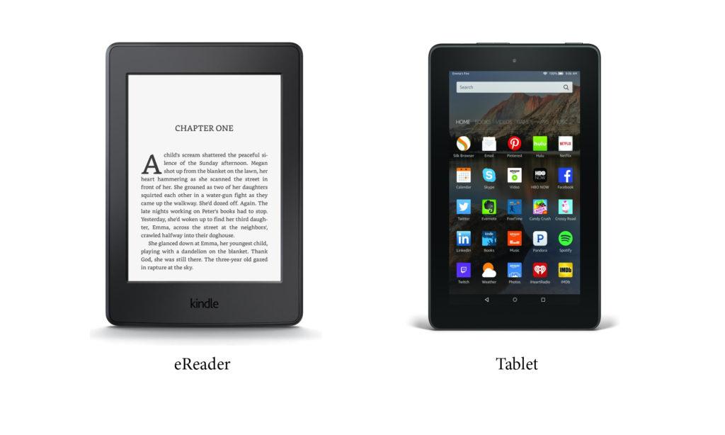 eReader vs Tablet